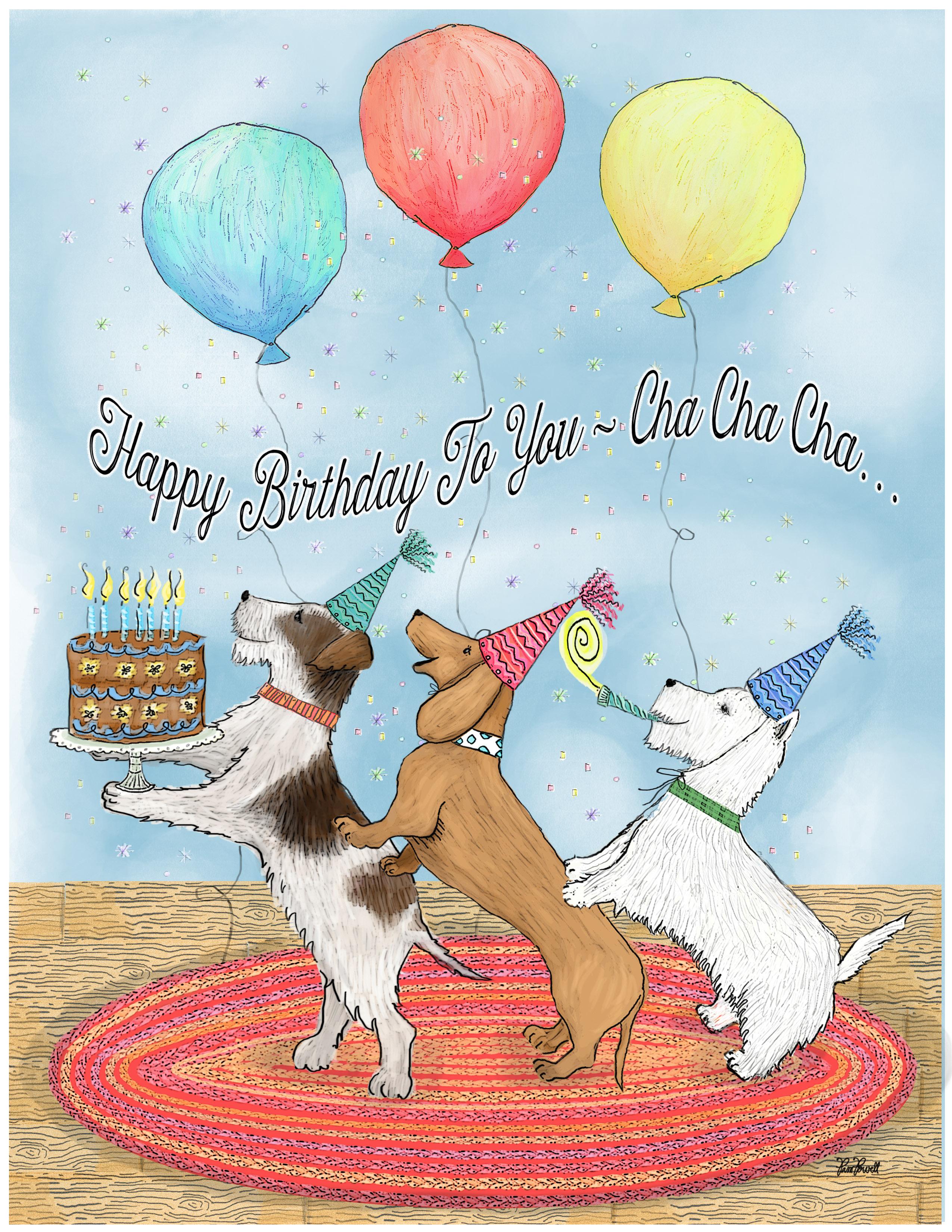 Pin by Jawine van Noortwijk on Verjaardagskaarten hond